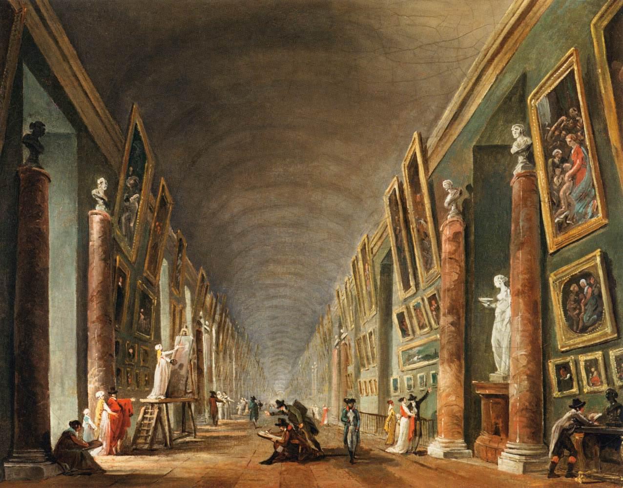 The Grande Galerie, 1795