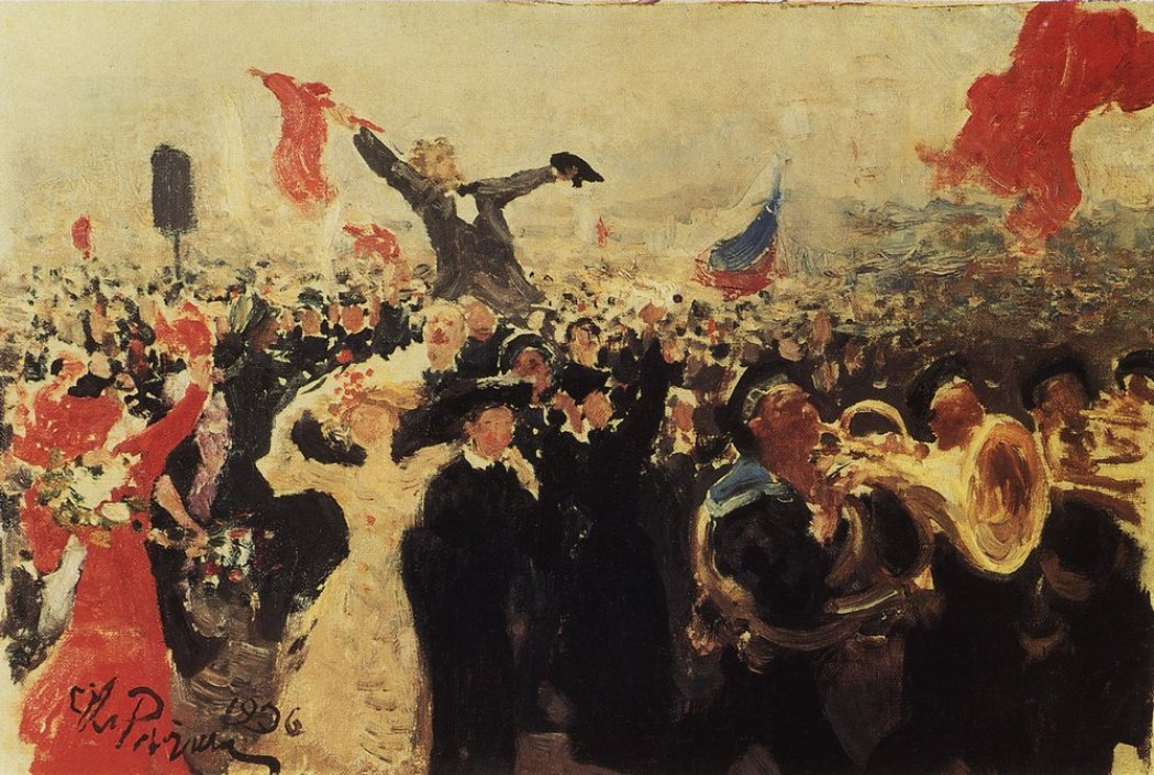 Russian Revolution By Ilya Repin 75