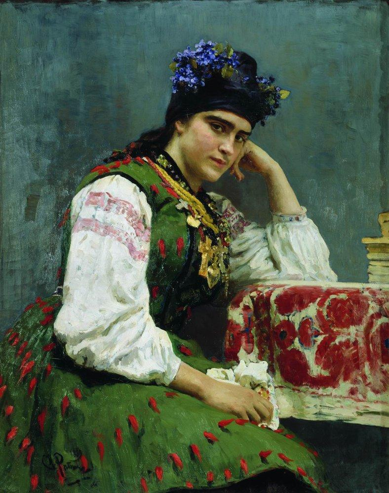 Portrait of Sophia Dragomirova, 1889