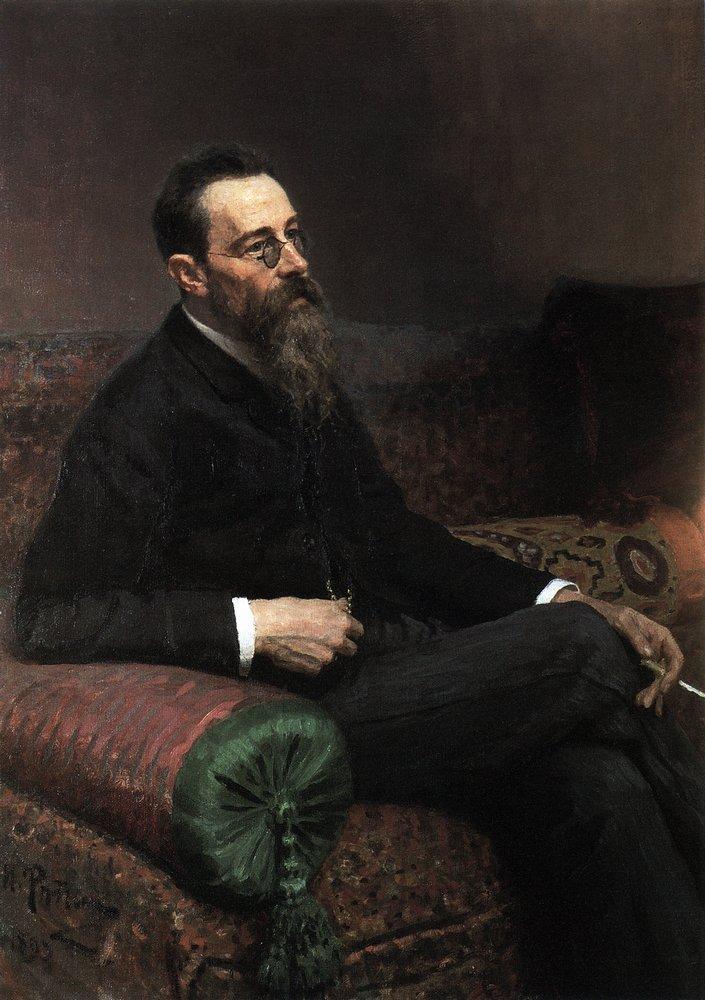 Portrait of the Composer Nikolay Rymsky-Korsakov, 1893