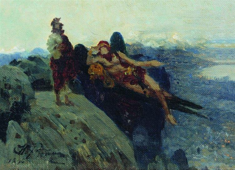 Temptation of Christ, 1896 - Ilya Repin