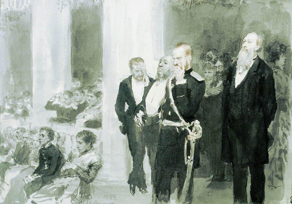 The Concert in the Assembly of Nobility, 1888