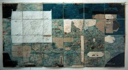 Map, 1978 - Ion Bitzan