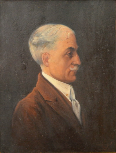 Portrait of Prof. Ion Ciolac, 1927 - Ion Tuculescu