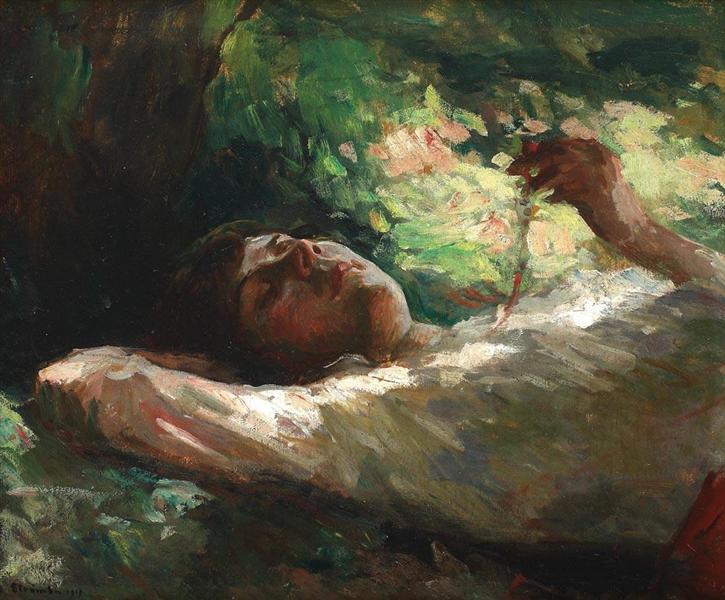 Reverie, 1919 - Ipolit Strambu