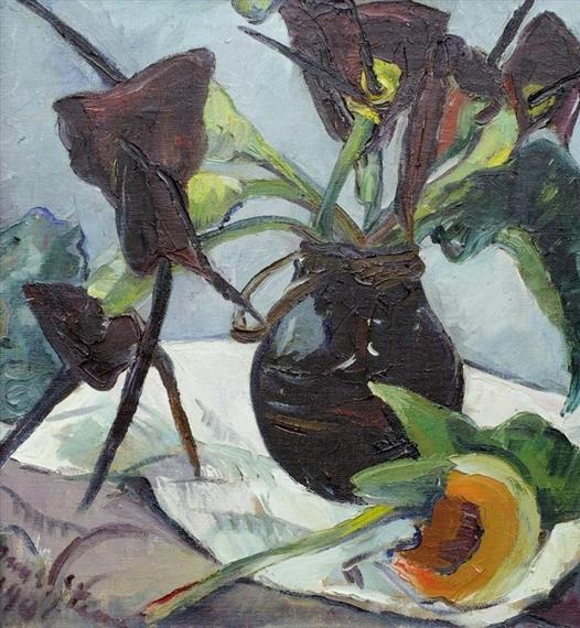 Irma Stern The Hunt Black Lilies Irma Stern