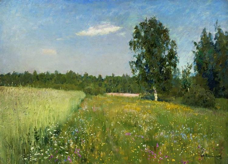 A day in June, c.1895 - Isaac Levitan
