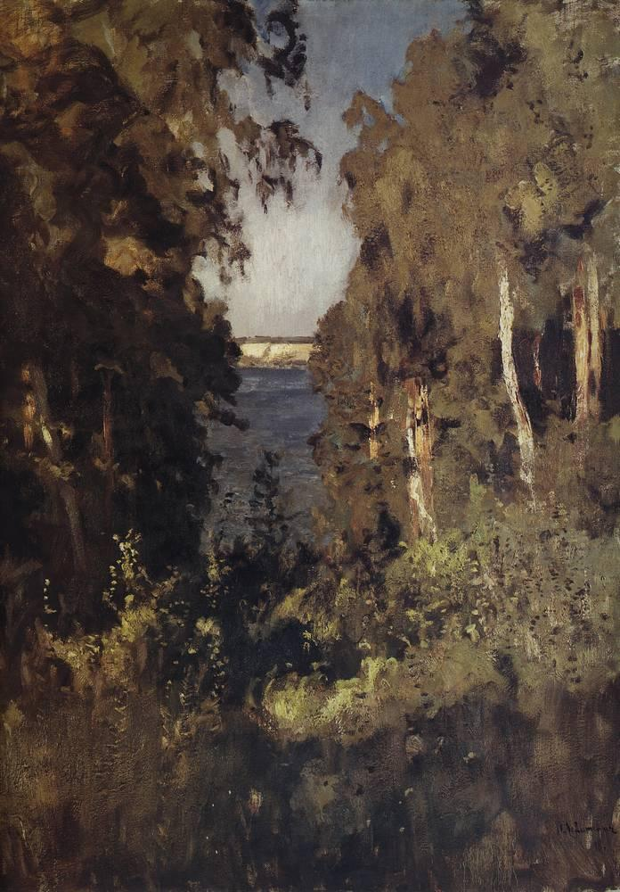 The gully isaac levitan wikiart