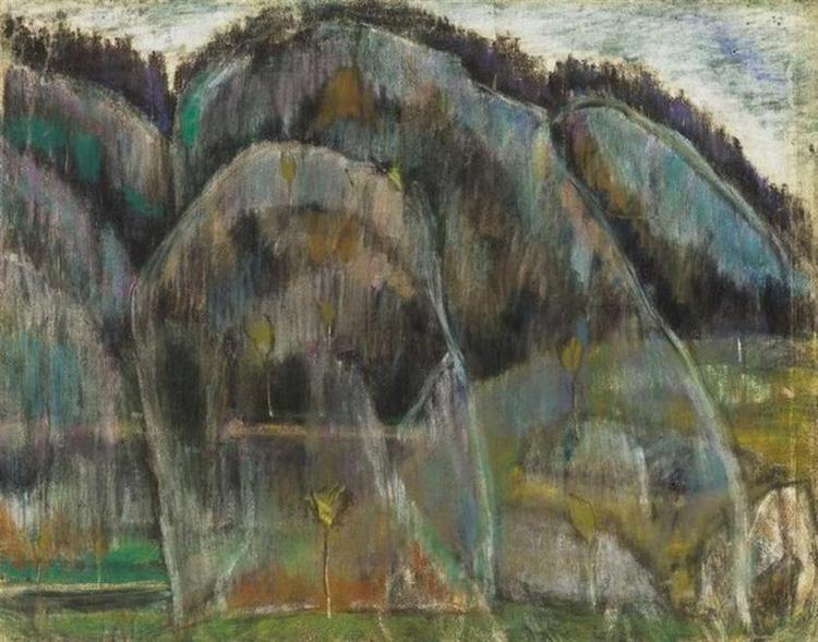 Humid landscape in Transylvania (Békás), 1928 - Istvan Nagy