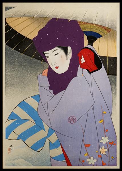 Okoso Hood, 1950 - Ito Shinsui