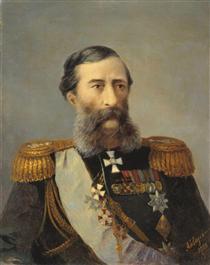Ritratto di Loris-Melikov - Ivan Aivazovsky