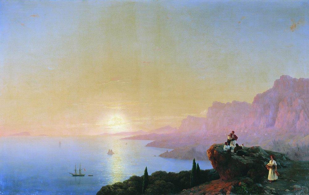 Sea bay, 1842