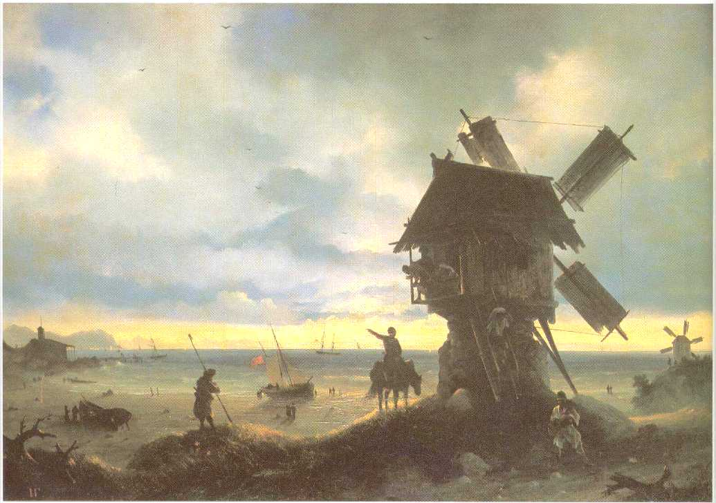 Windmill on the Sea Coast, 1837