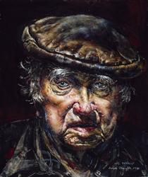 Self-Portrait (No.3) - Ivan Albright