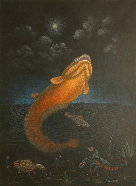 Catfish, 1992 - Ivan Generalić