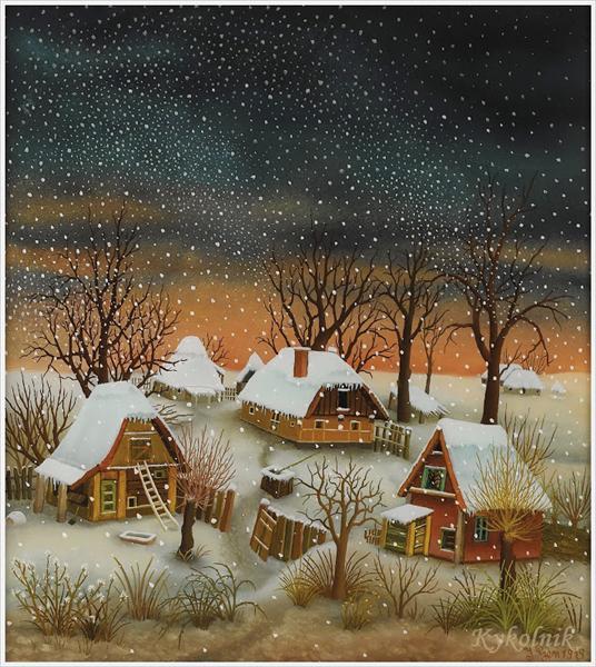Winter Landscape, 1979 - Ivan Generalić