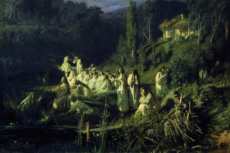 Mermaids, 1871 - Ivan Kramskoy