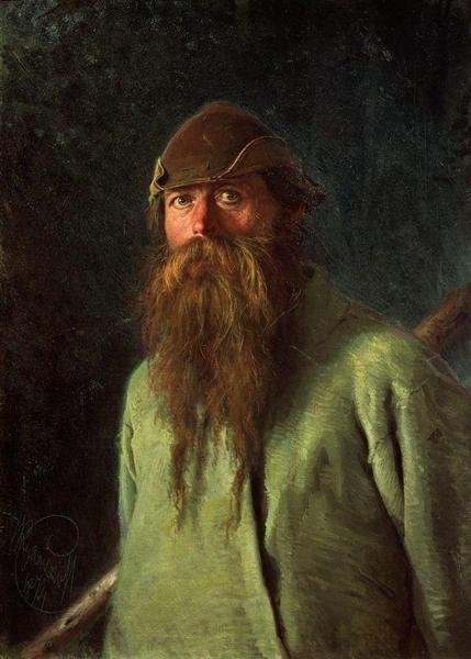 Woodsman, 1874 - Ivan Kramskoy