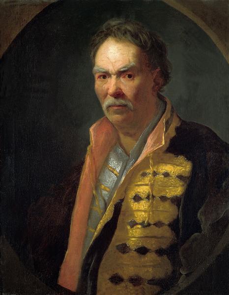 A Malorossian Hetman (Probably Pavlo Polubotok), 1720 - Ivan Nikitin