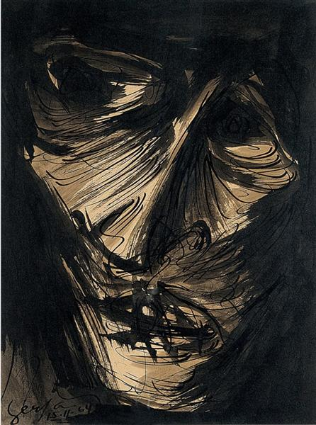 Figura (Fase Negra), 1964 - Ivan Serpa