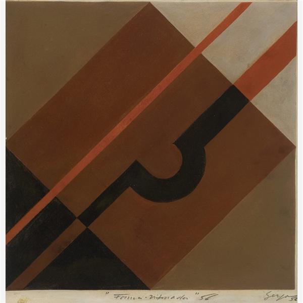 Formas diferenciadas, 1956 - Ivan Serpa