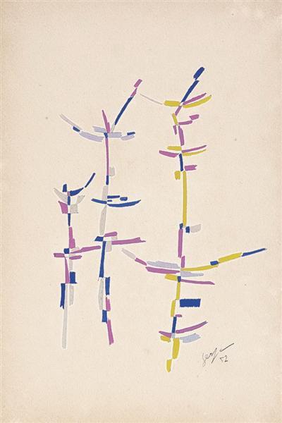 Untitled, 1952 - Ivan Serpa