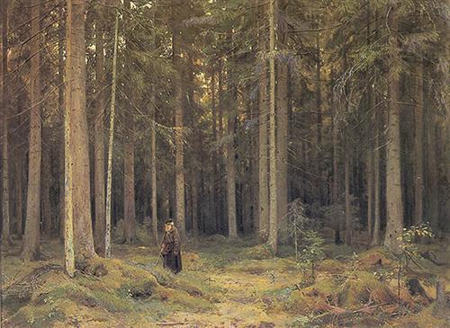 Countess Mordvinov's Forest  - Ivan Shishkin