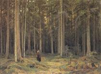 Countess Mordvinov's Forest - Іван Шишкін