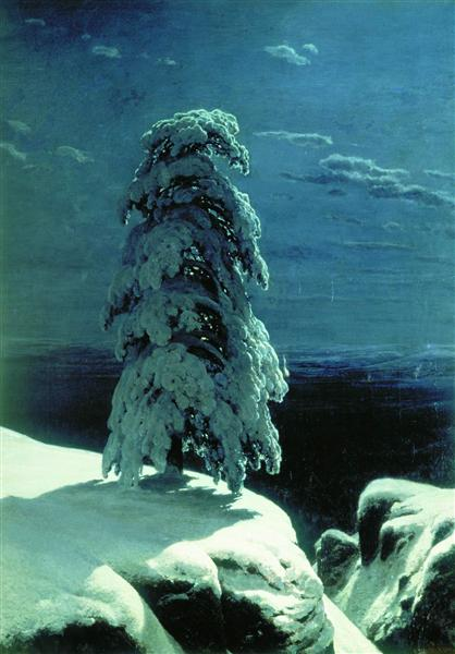 In the Wild North, 1891 - Ivan Shishkin