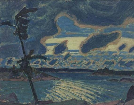 After Sunset, Georgian Bay, 1931 - J. E. H. MacDonald
