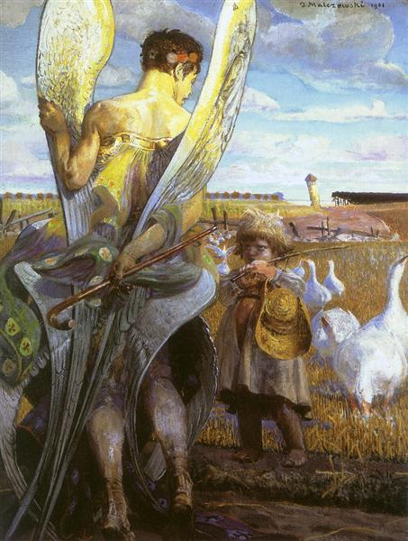 Angel, I will follow you, 1901 - Jacek Malczewski