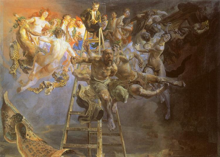 Vicious circle, 1895 - 1897 - Jacek Malczewski