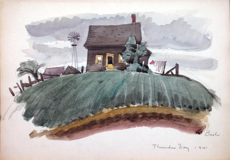 Bay, 1941 - Jack Bush