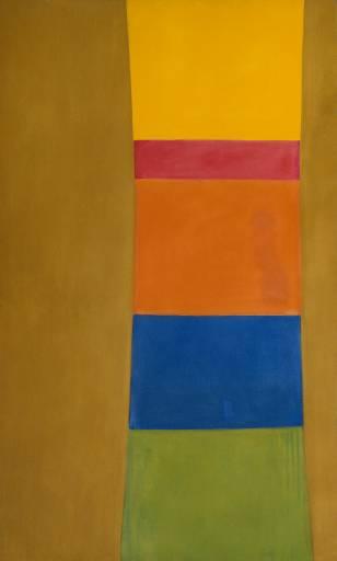 Colour Column on Suede, 1965 - Jack Bush