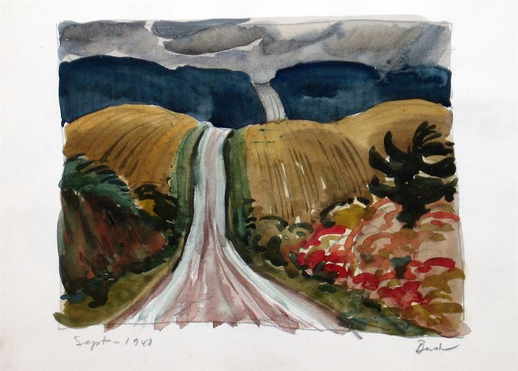 Country Road, 1942 - Jack Bush