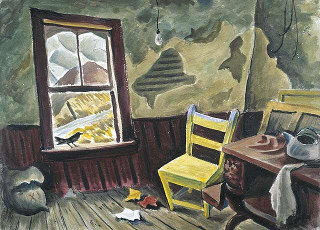 Haunted House, 1945 - Jack Bush