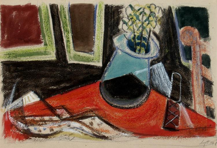 Still Life with Knife, 1954 - Jack Bush