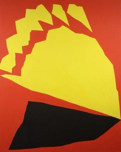 Red, Yellow, Black, 1965 - Jack Youngerman