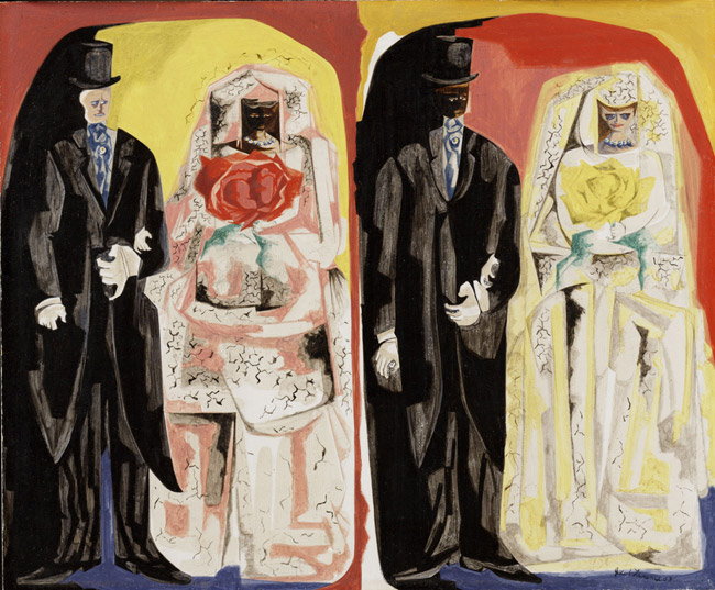 Taboo, 1963 - Jacob Lawrence
