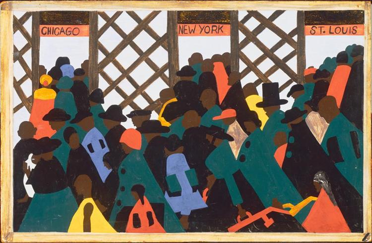 The Migration of the Negro, Panel 1 - Джейкоб Лоуренс