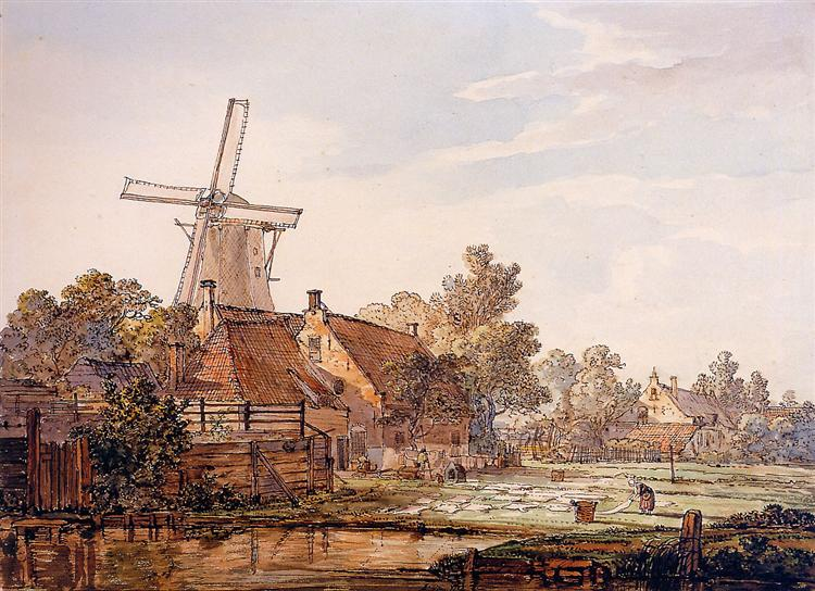 View on Bleechingground in Vriesepoort - Jacob van Strij