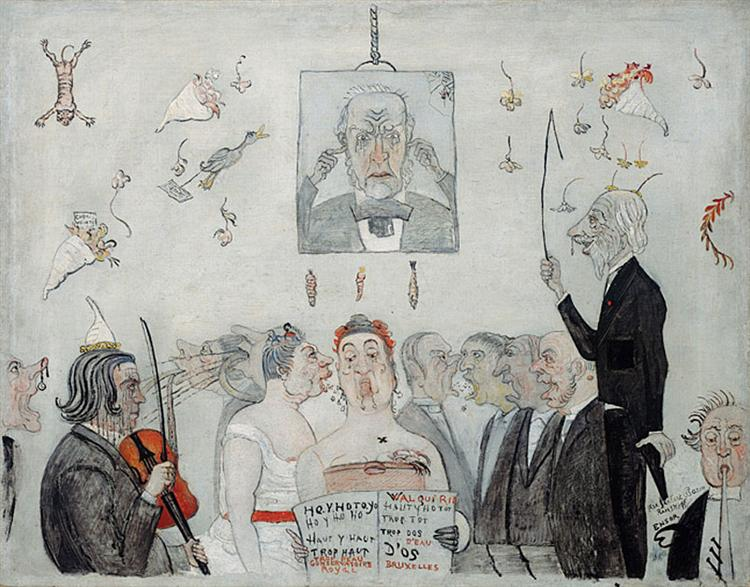 At the Conservatory, 1902 - James Ensor