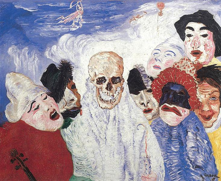Death and the Masks, 1897 - James Ensor