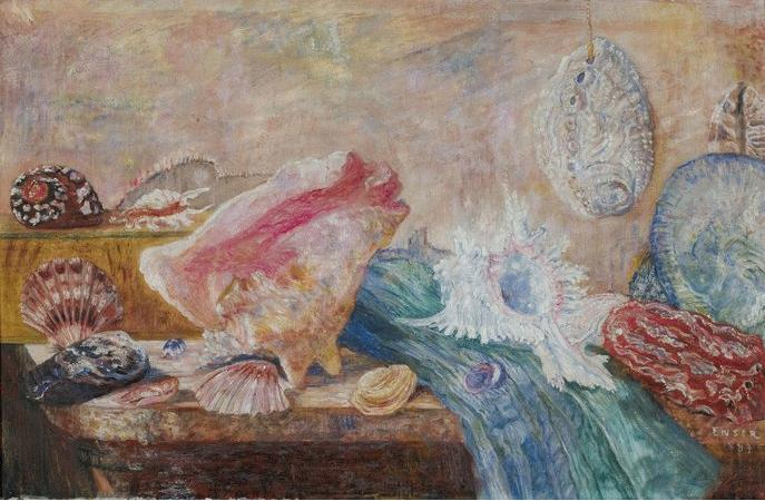 Shells and Shellfish, 1889 - James Ensor