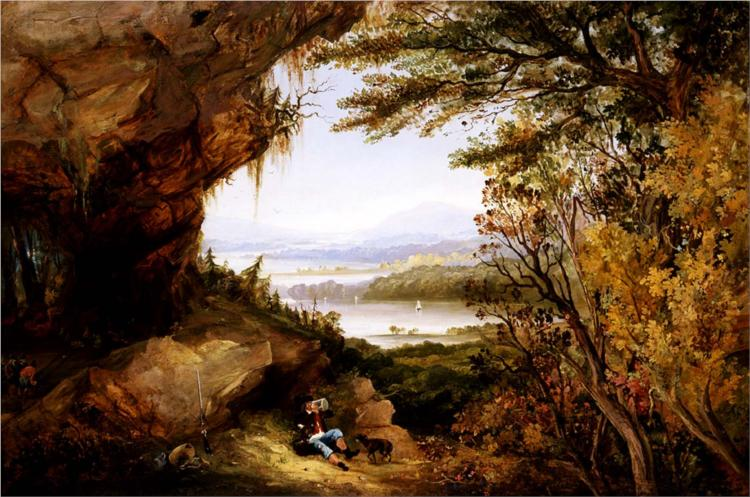 Scene on the Hudson (Rip Van Winkle), 1845 - James Hamilton