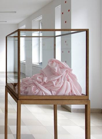 Pink Silk Object, 1969 - James Lee Byars
