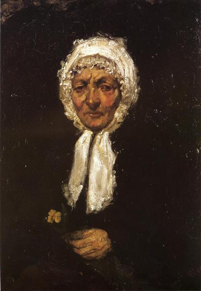 Old Mother Gerard, 1858 - 1859 - James McNeill Whistler
