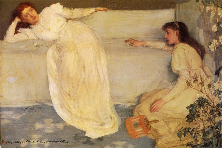 Symphony in White, No. 3, 1867 - James McNeill Whistler