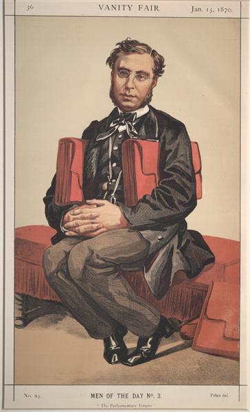 Man of the day No.03° - Émile Ollivier, 1870 - James Tissot