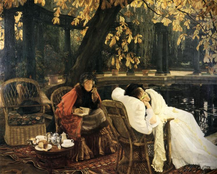 A Convalescent, c.1876 - James Tissot
